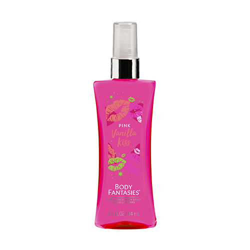 Body Fantasies Pink Vanilla Kiss 3.2oz